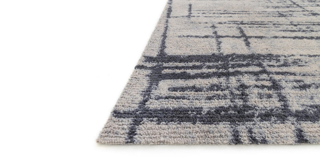 DISCOVER Collection Rug  in  GREY / CHARCOAL