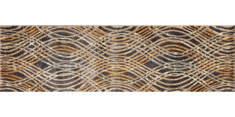 DREAMSCAPE Collection Rug  in  CHARCOAL / GOLD