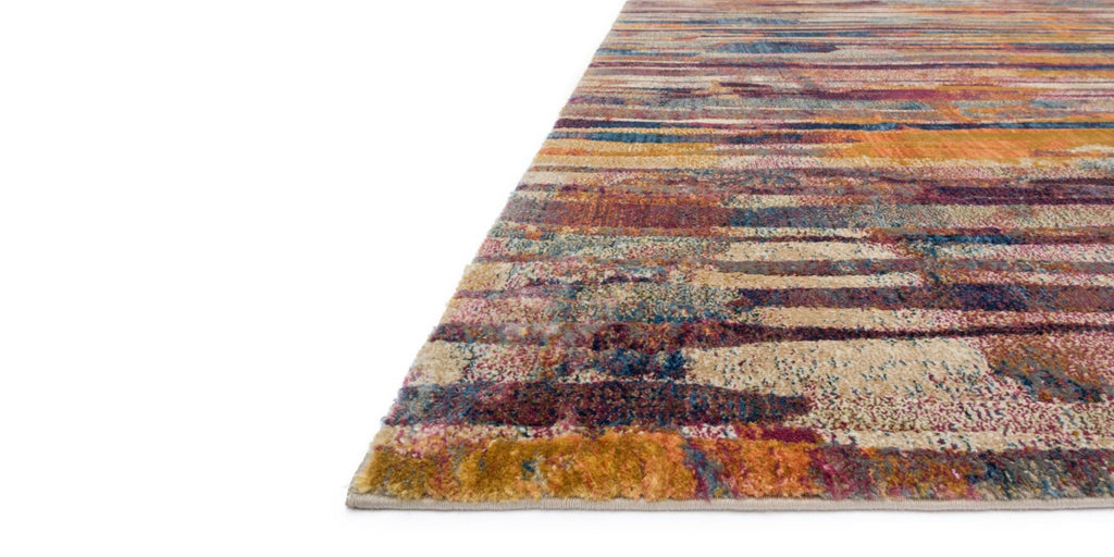 DREAMSCAPE Collection Rug  in  RASPBERRY / MULTI