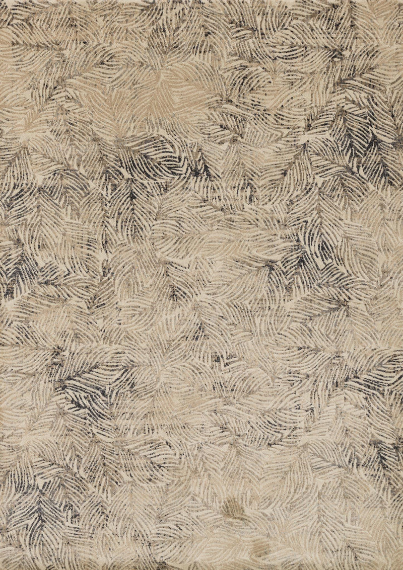 DREAMSCAPE Collection Rug  in  CHARCOAL / BEIGE Gray Runner Power-Loomed Polypropylene/Polyester