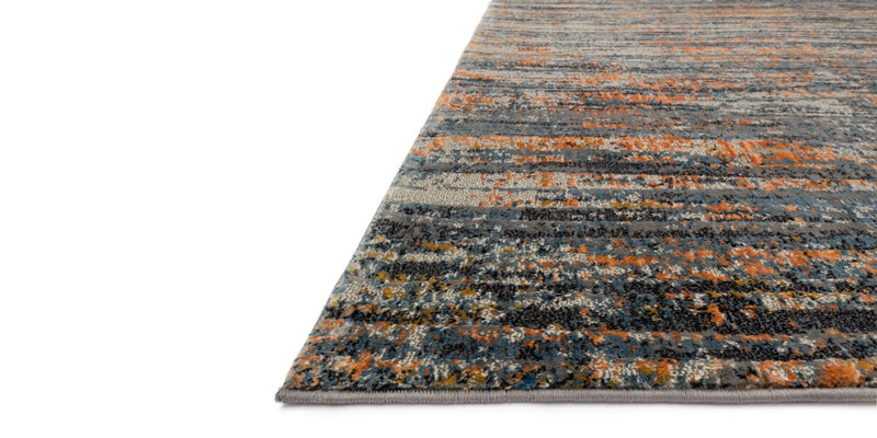 DREAMSCAPE Collection Rug  in  SLATE / ORANGE
