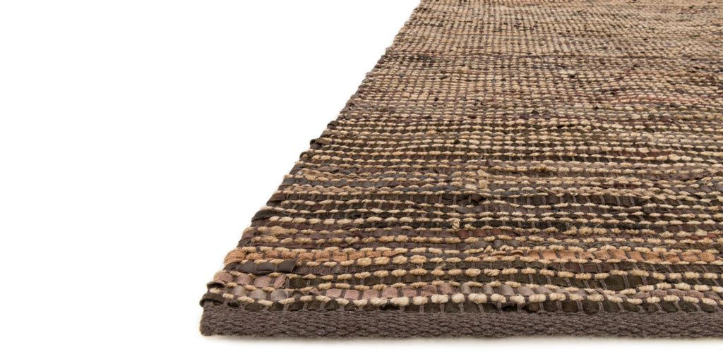 EDGE Collection Rug  in  BROWN