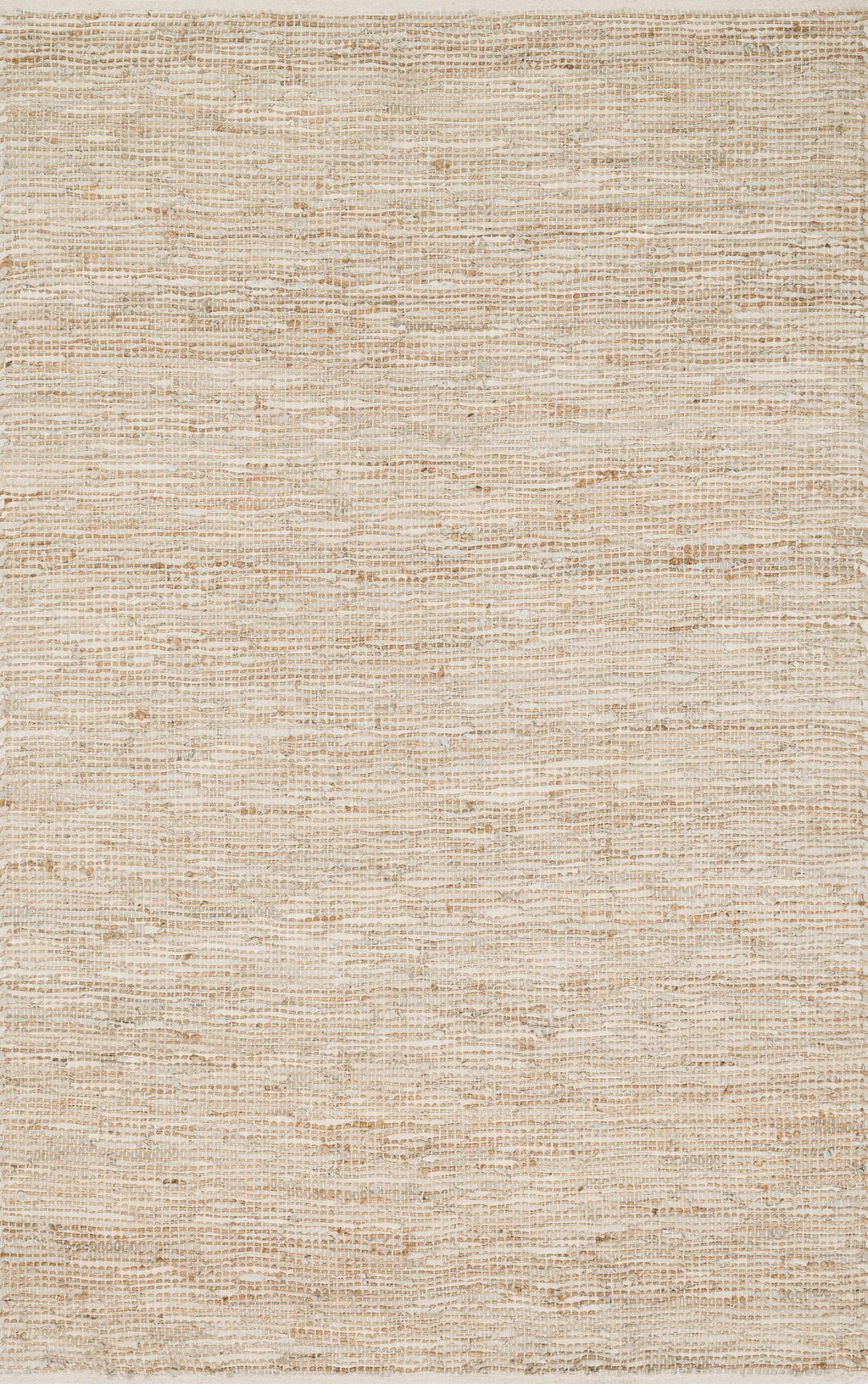 EDGE Collection Rug  in  IVORY Ivory Small Hand-Woven Jute/Hemp