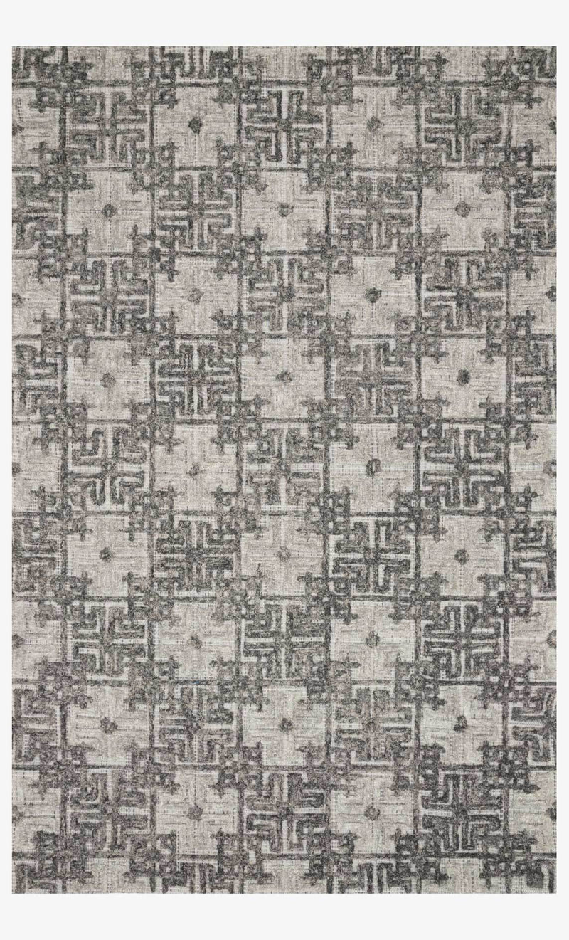 Ehren Collection Rug in Charcoal / Fog
