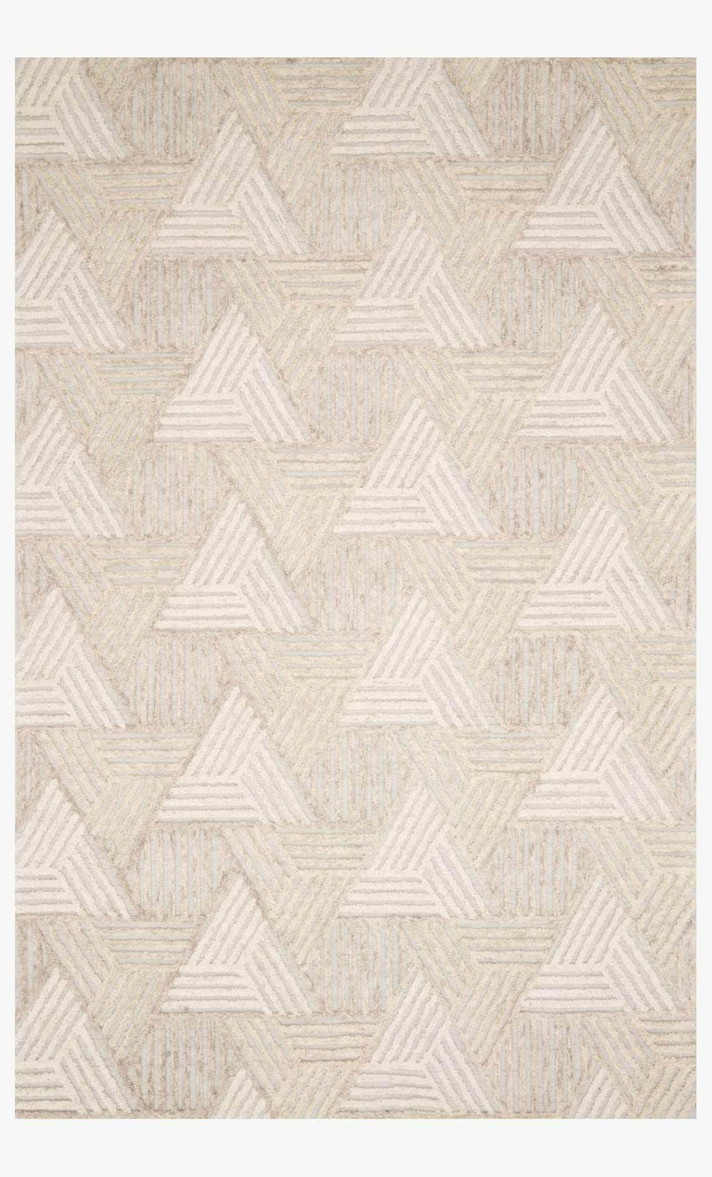 Ehren Collection Rug in Oatmeal / Ivory