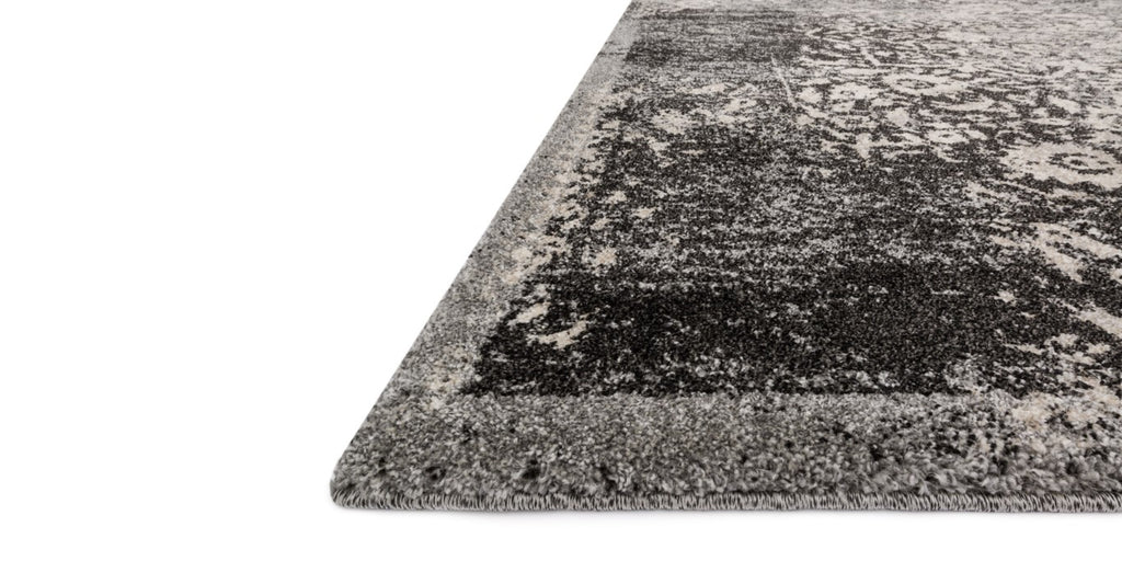 EMORY Collection Rug  in  BLACK / IVORY