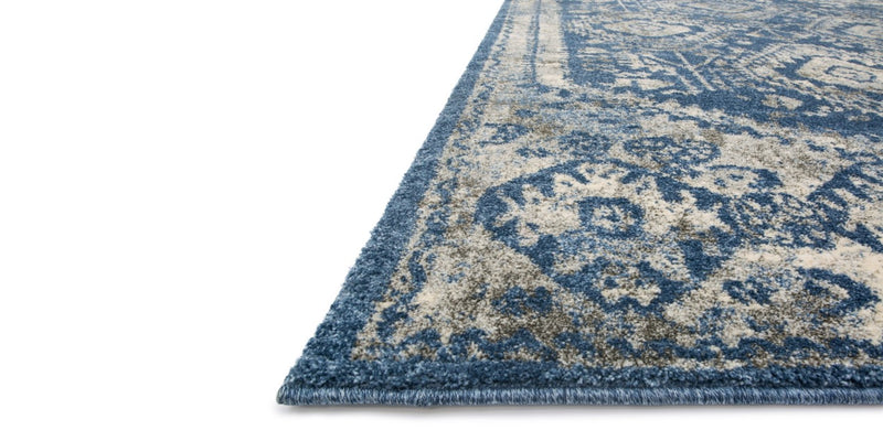 EMORY Collection Rug  in  BLUE / PEBBLE