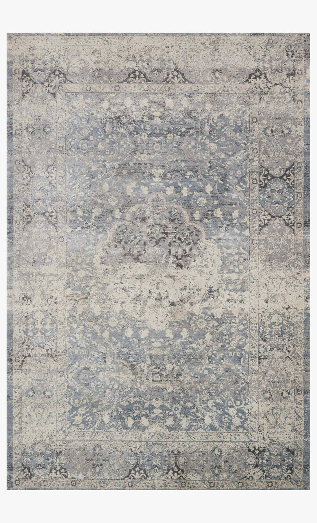 Everly Collection Rug in MIST / MIST