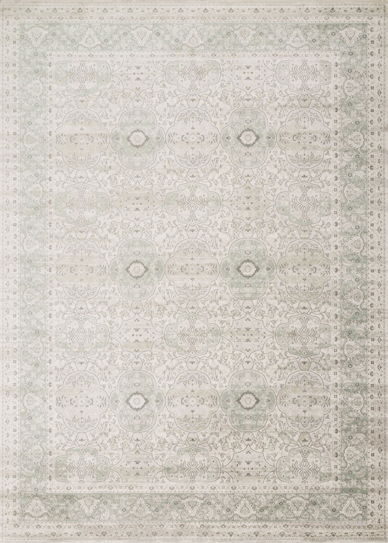 GRIFFIN Collection Rug  in  MIST Beige Runner Power-Loomed Viscose