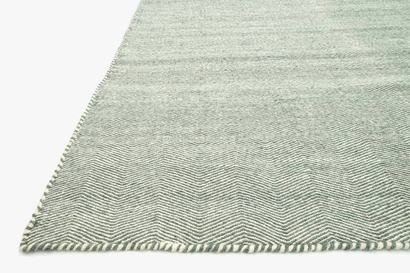 Harper Collection Wool Rug in Light Blue