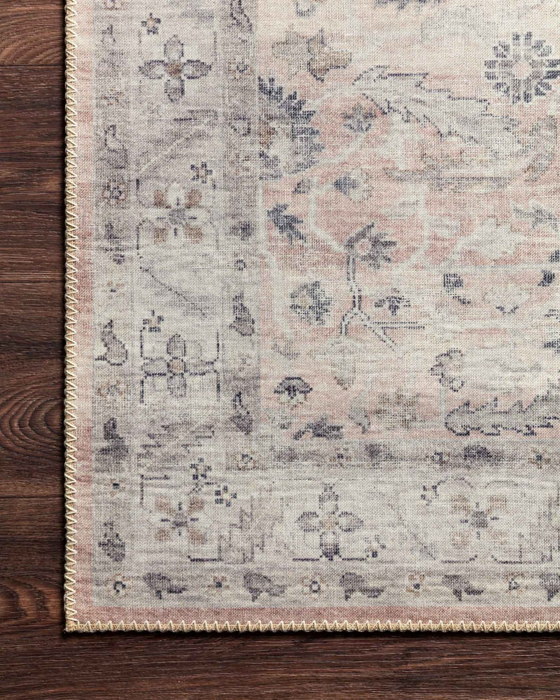 Hathaway Collection Rug in Blush / Multi
