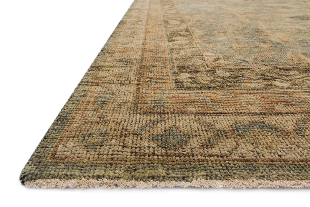 HEIRLOOM Collection Rug  in  FOG / FOG Beige Accent Hand-Knotted Viscose