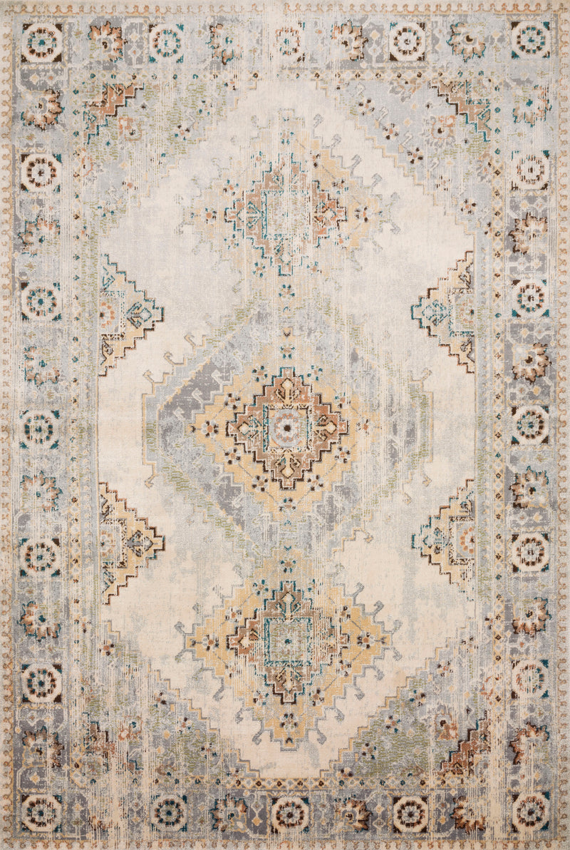 ISADORA Collection Rug  in  ANT. IVORY / SUNSET