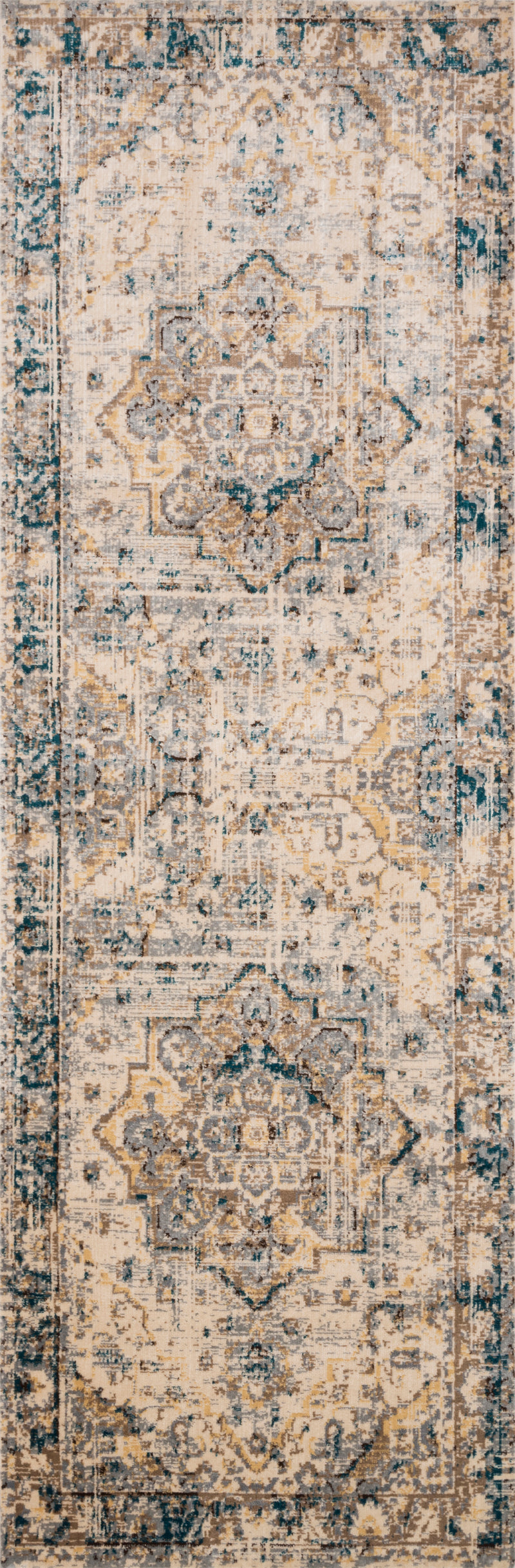 ISADORA Collection Rug  in  OATMEAL / BARK Beige Accent Power-Loomed Polypropylene