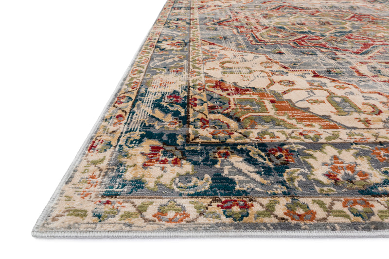 ISADORA Collection Rug  in  OATMEAL / MULTI Beige Accent Power-Loomed Polypropylene