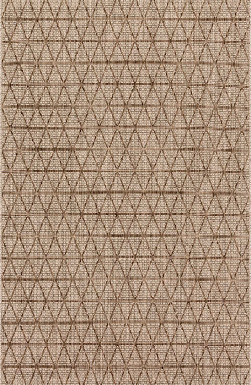 ISLE Collection Rug  in  BEIGE / MOCHA Beige Small Power-Loomed Polypropylene