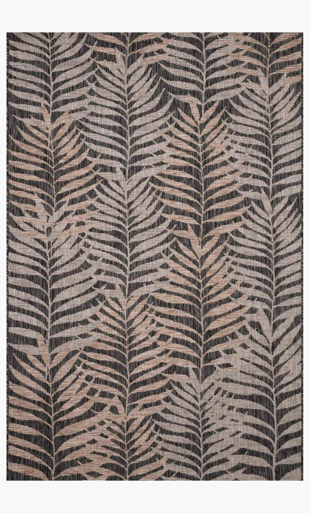 ISLE Collection Rug in NATURAL / BLACK