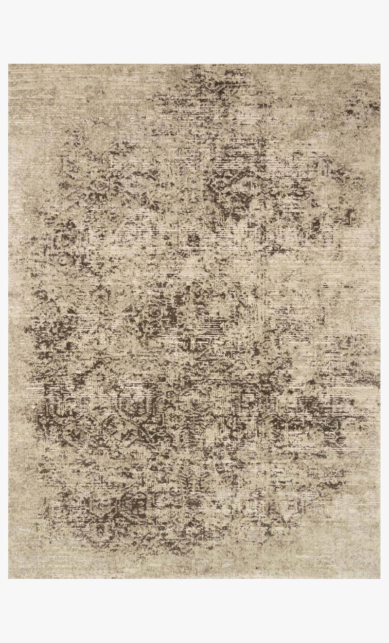 James Collection Rug in BARK / TAUPE