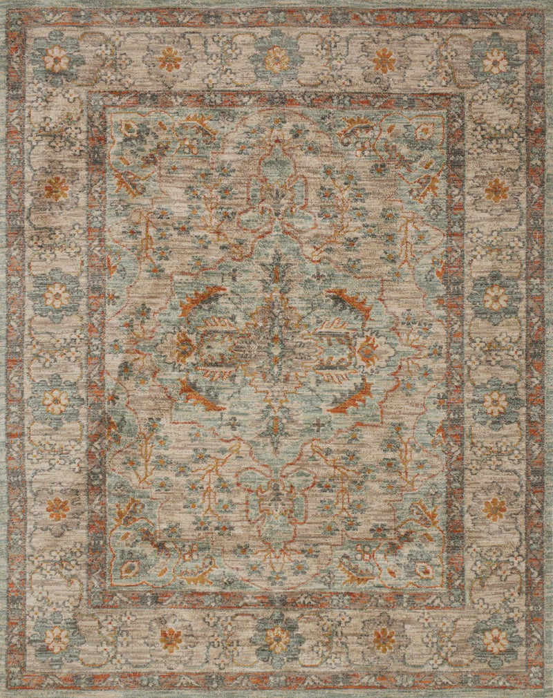 JOSEPHINE Collection Rug  in  SAND / MULTI Beige Runner Machine-Made Polyester