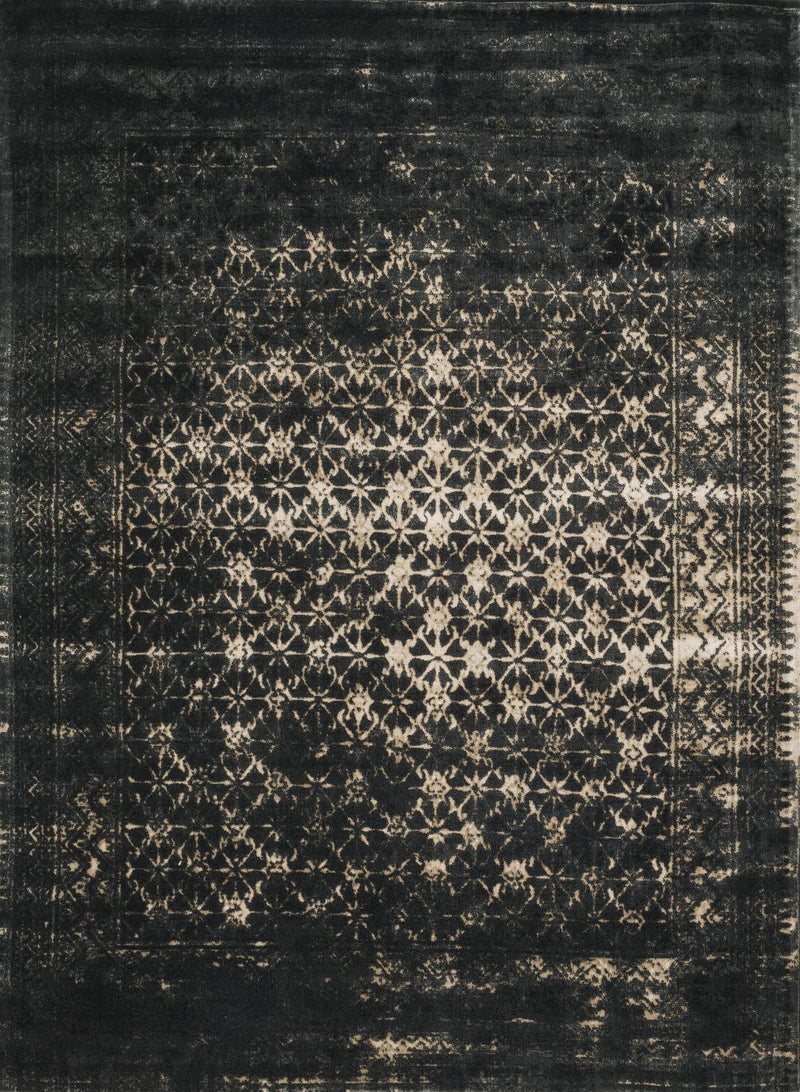 Omen Collection Wool Rug in Mist