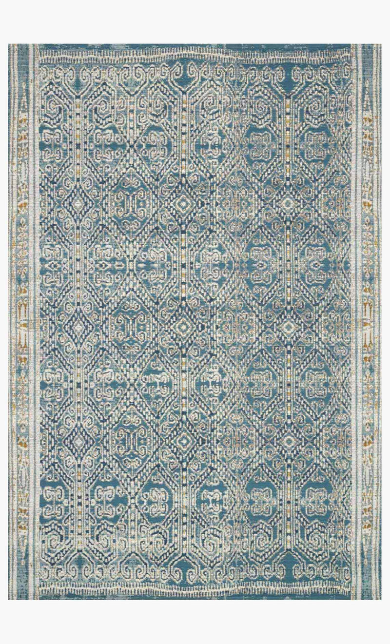 MIKA Collection Rug in DARK BLUE / DARK BLUE