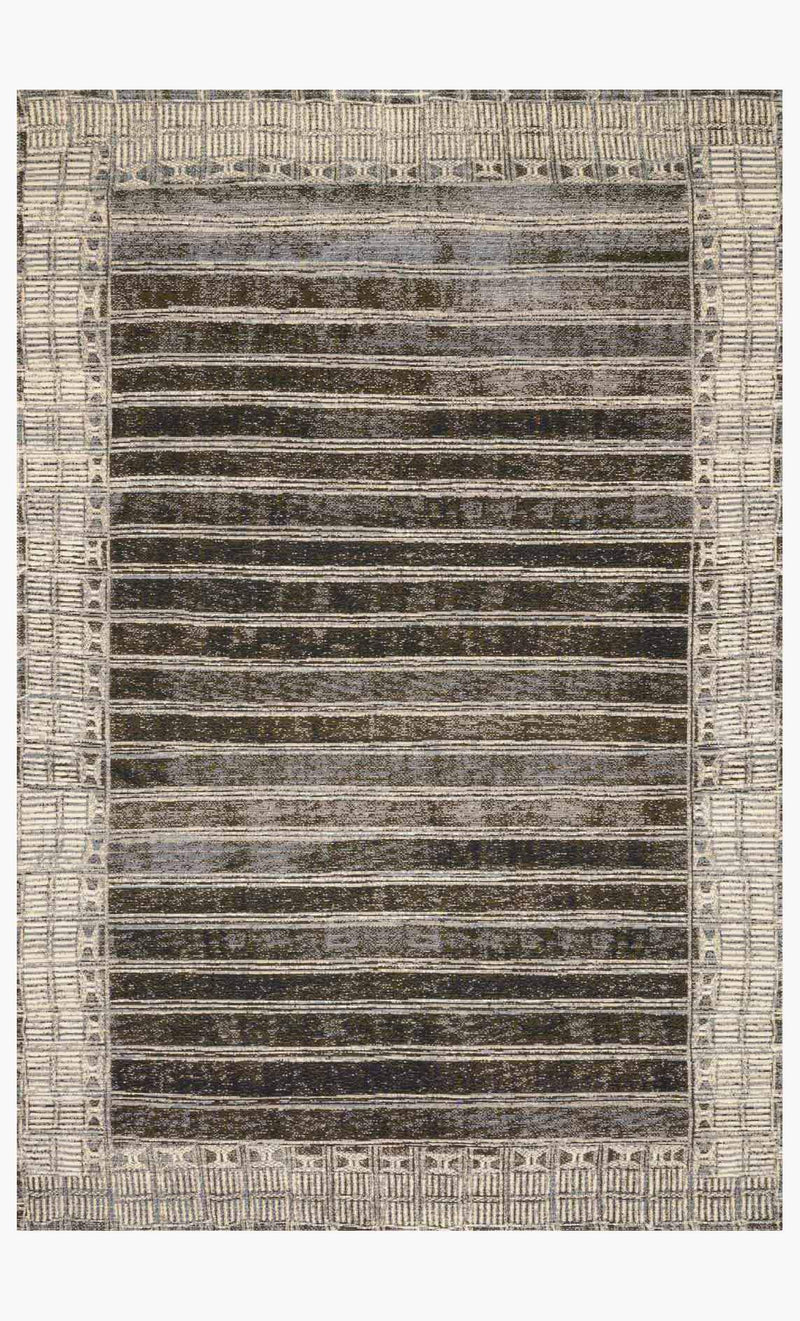 ALLURE SHAG Collection Rug in GRAPHITE
