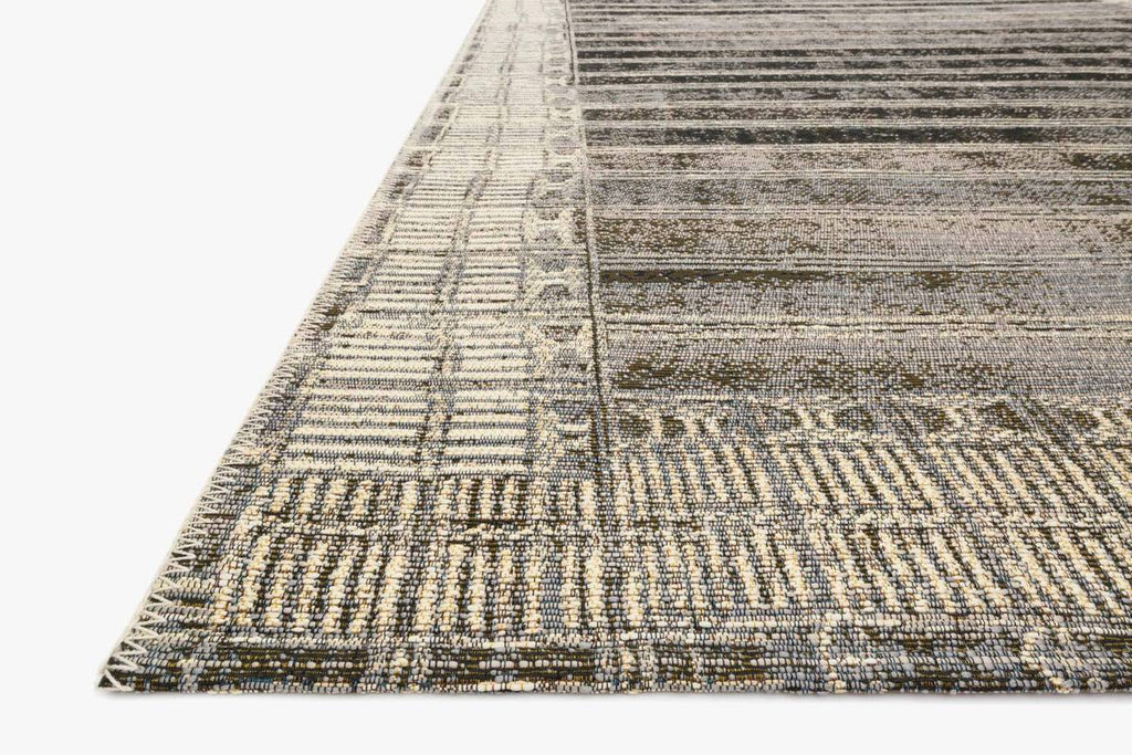 MIKA Collection Rug in CHARCOAL / IVORY