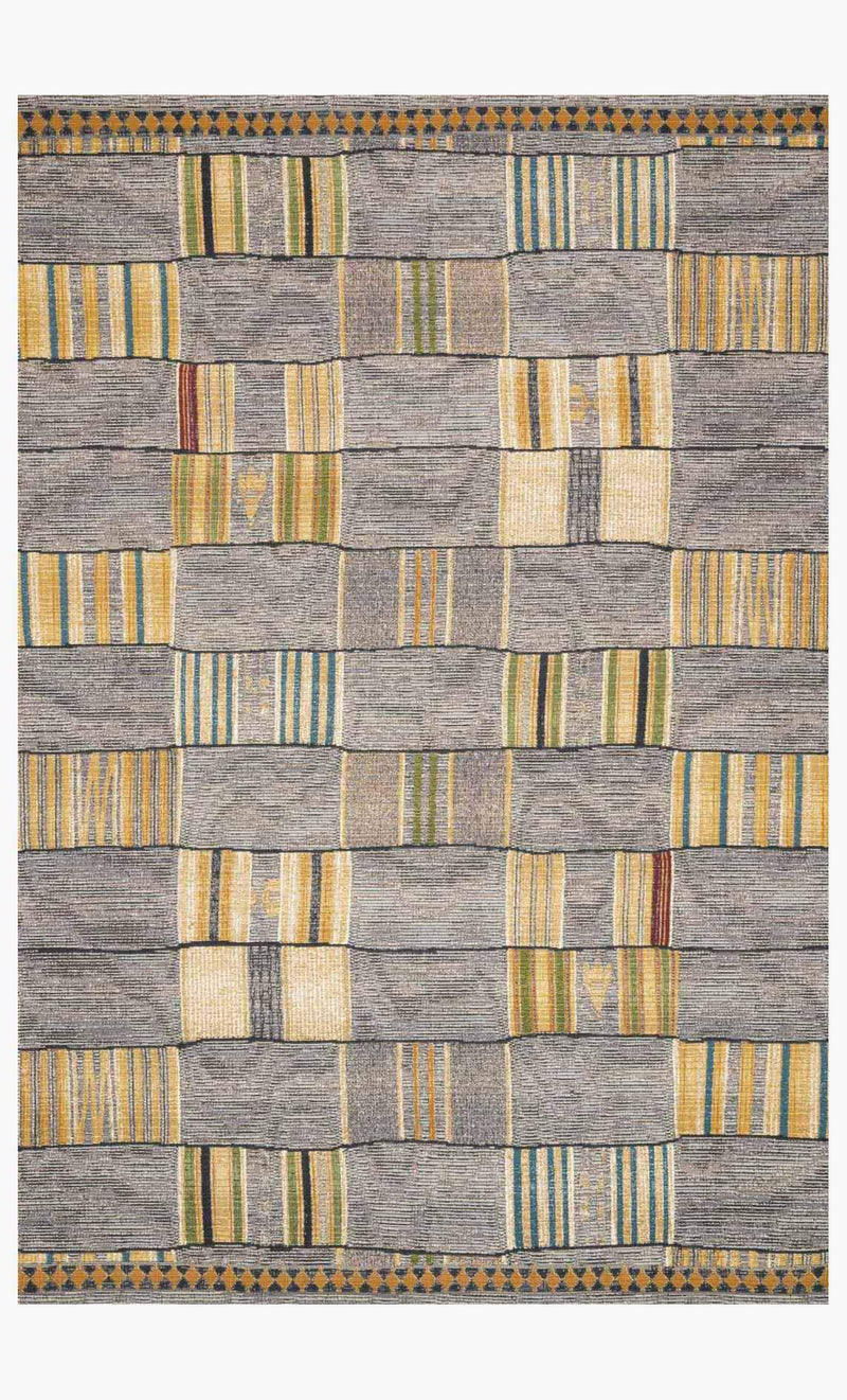 MIKA Collection Rug in GRANITE / MULTI