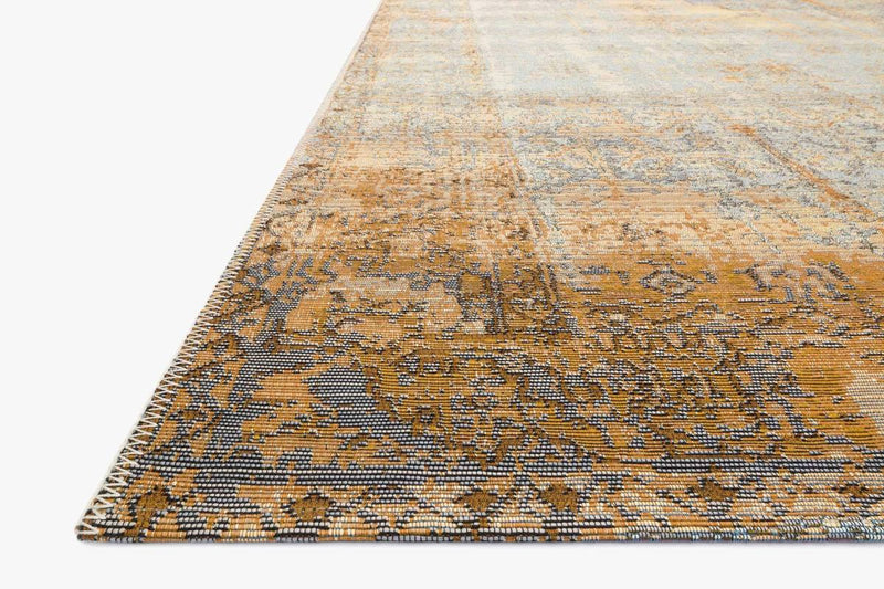 MIKA Collection Rug in ANTIQUE IVORY / COPPER