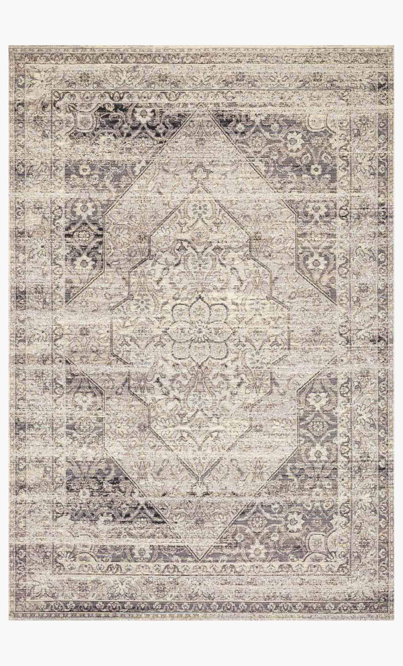 VENICE BEACH Collection Rug in BROWN / BEIGE