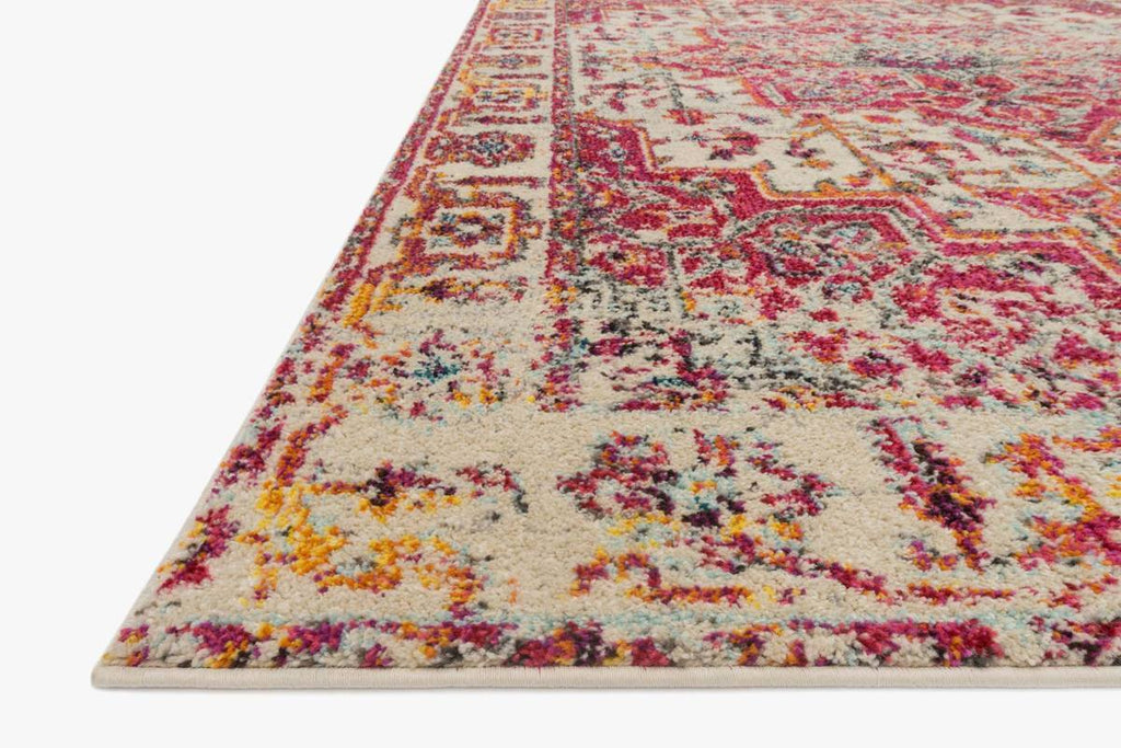NADIA Collection Rug in IVORY / PINK