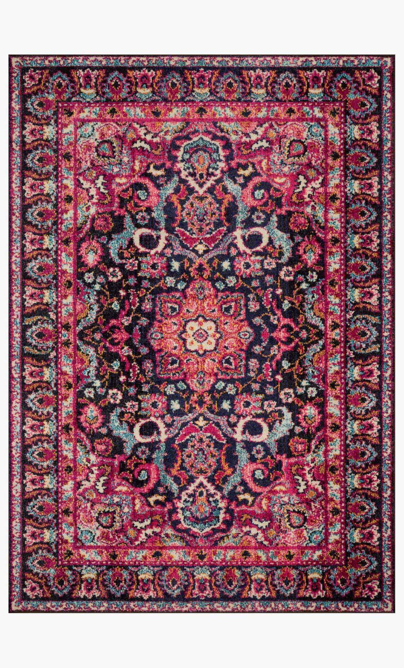 JAVARI Collection Rug  in  LAGOON / FIESTA