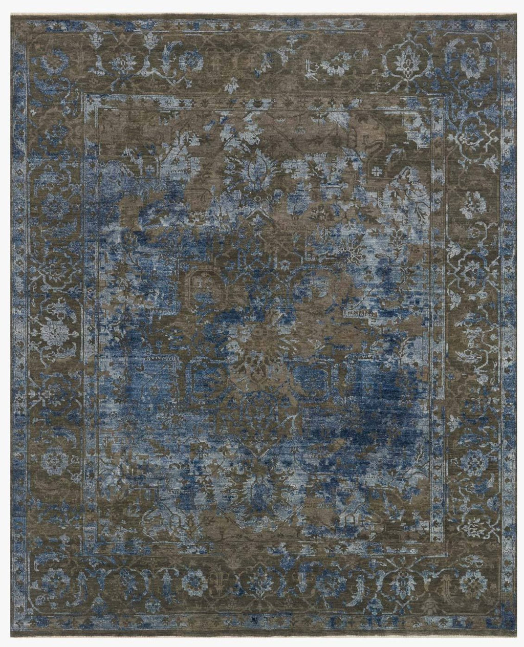 New Artifact Collection Rug in ASH / BLUE