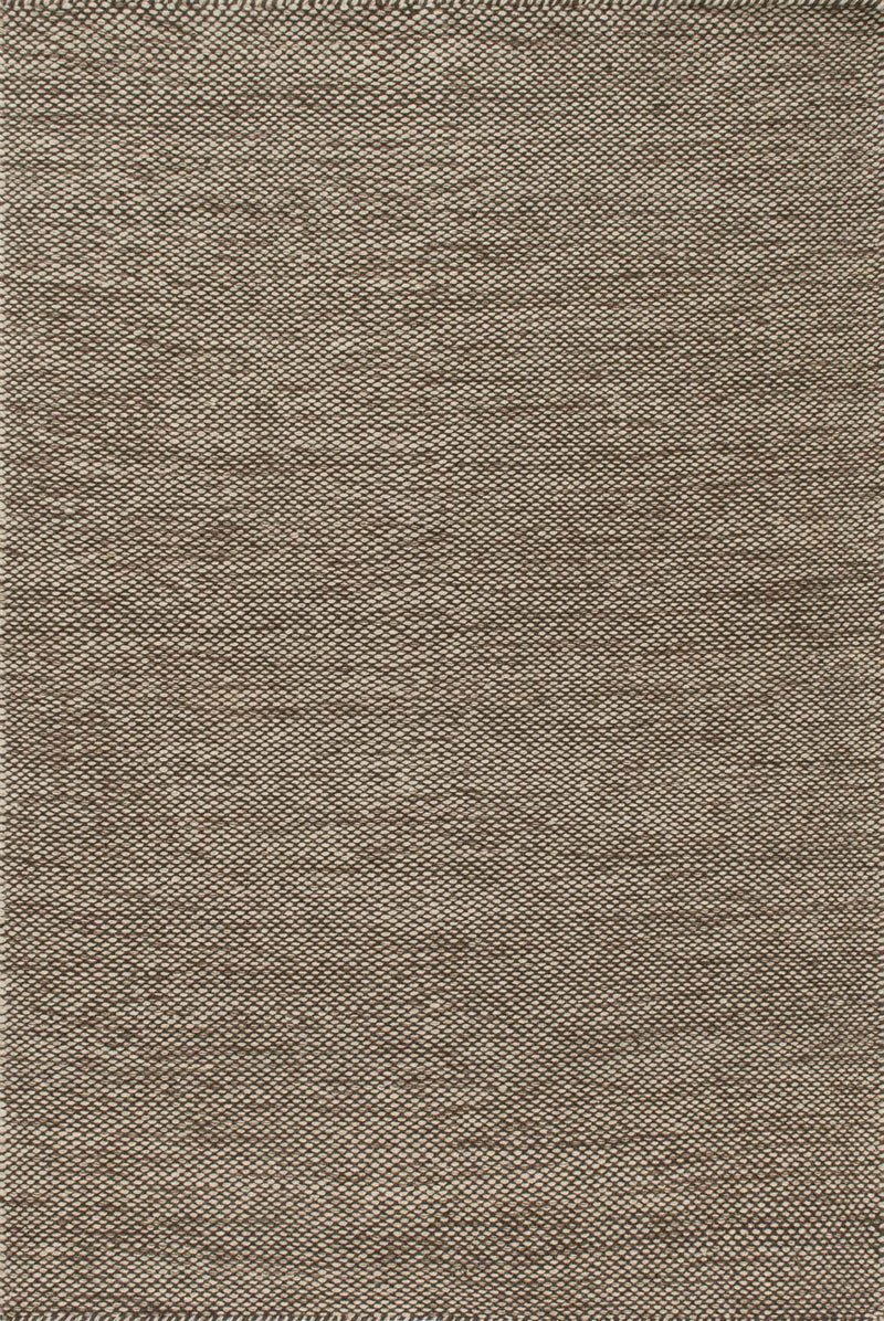 OAKWOOD Collection Wool Rug  in  STONE Gray Small Hand-Woven Wool