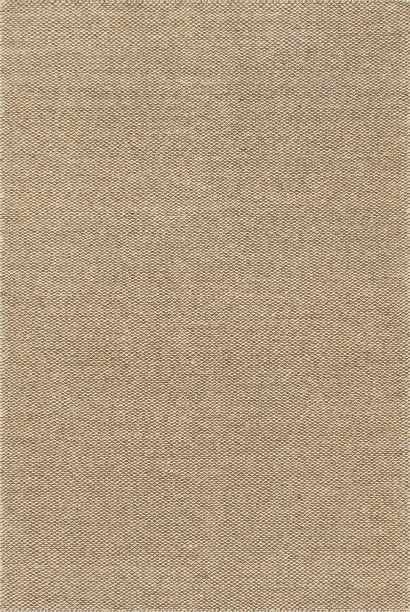 OAKWOOD Collection Wool Rug  in  NATURAL Beige Small Hand-Woven Wool