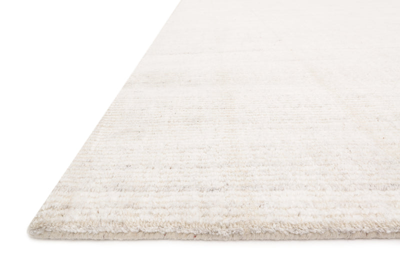 PORTER Collection Wool/Viscose Rug in Ivory Ivory Accent Hand-Loomed Wool/Viscose