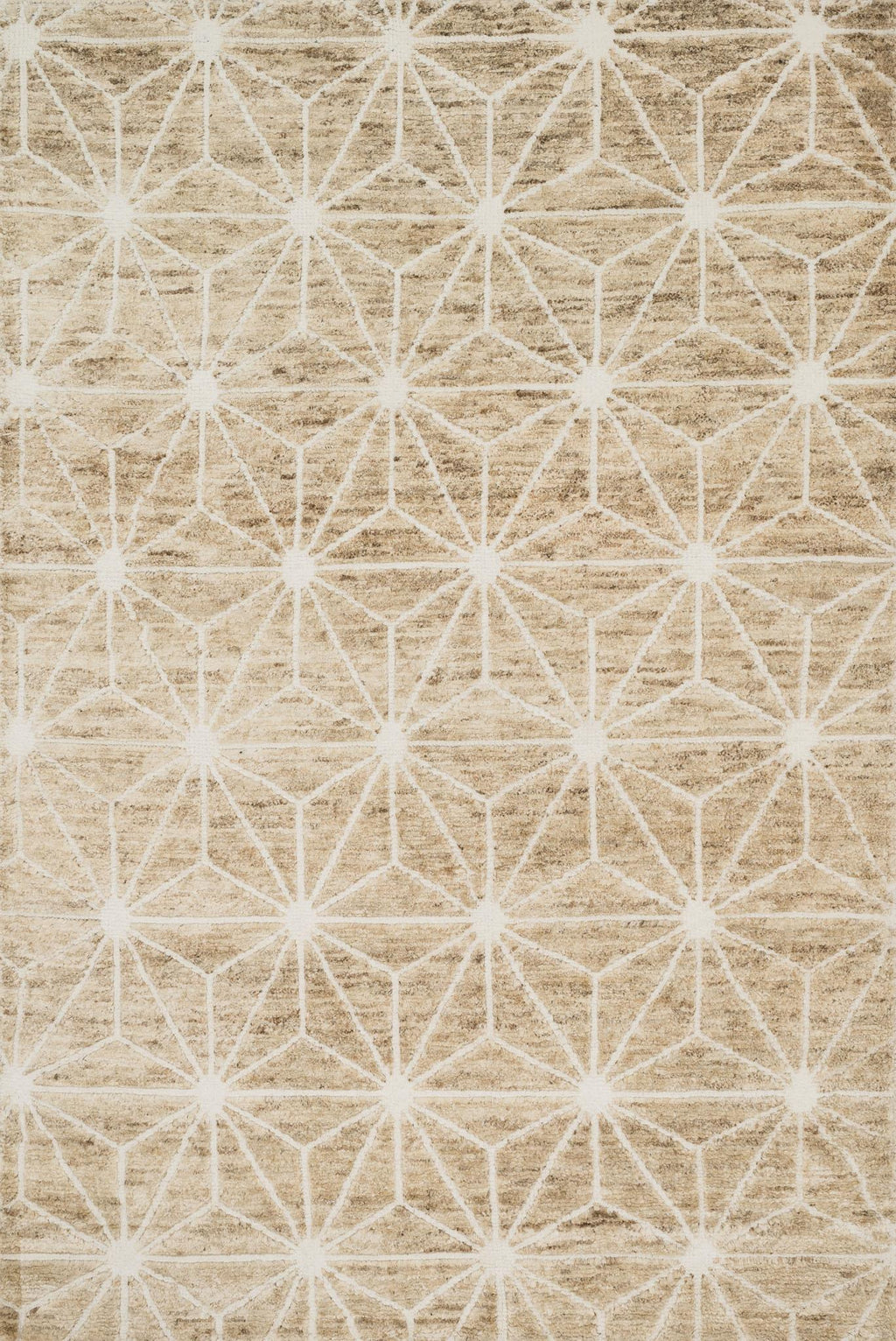 SAHARA Collection Rug  in  IVORY Ivory Small Hand-Knotted Jute/Wool