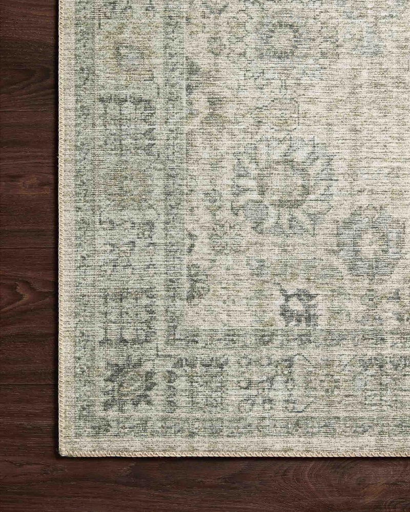 SKYE Collection Rug  in  Natural / Sage Beige Accent Power-Loomed Polyester
