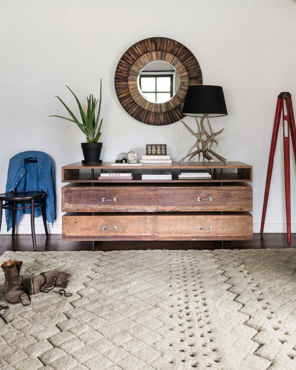 TANZANIA/HEMINGWAY Collection Rug  in  SAND