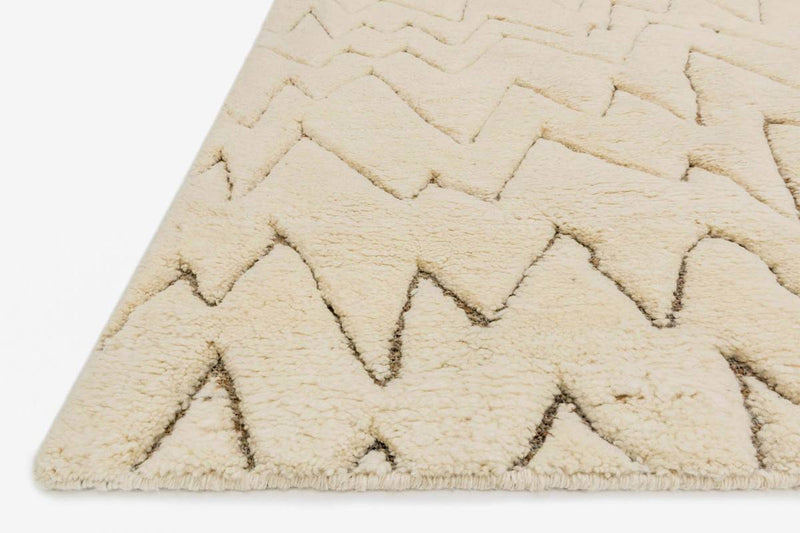 TANZANIA/HEMINGWAY Collection Rug  in  IVORY