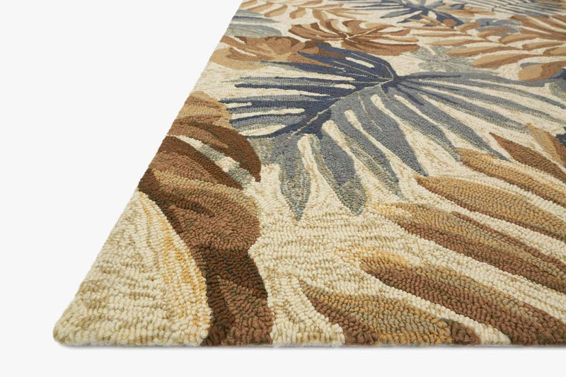 VENICE BEACH Collection Rug in CAMEL / GREY
