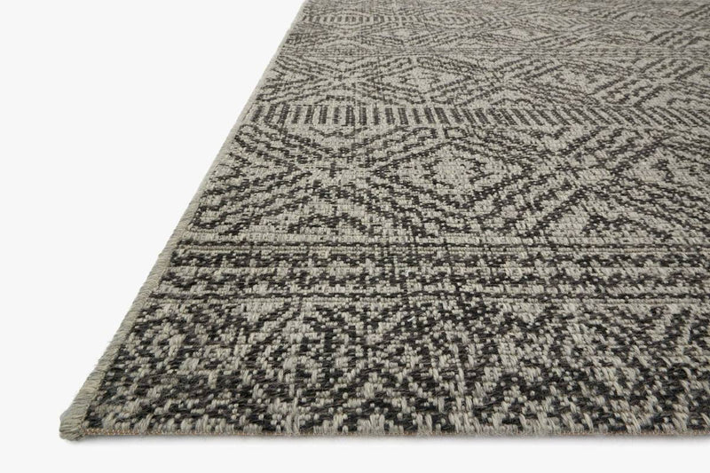 WARWICK Collection Rug  in SILVER / BLACK