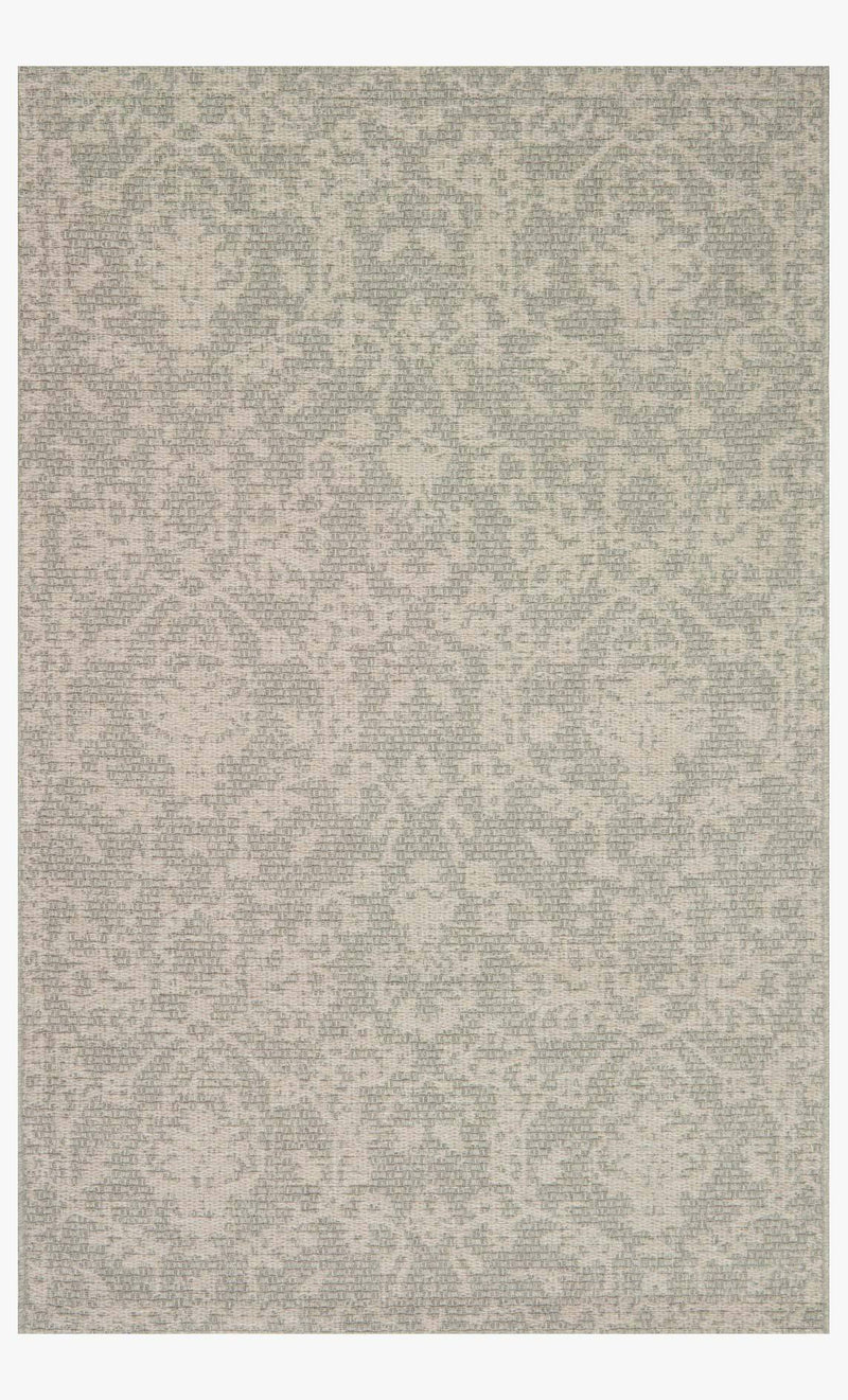 AKINA Collection Wool Rug  in  IVORY / GREY
