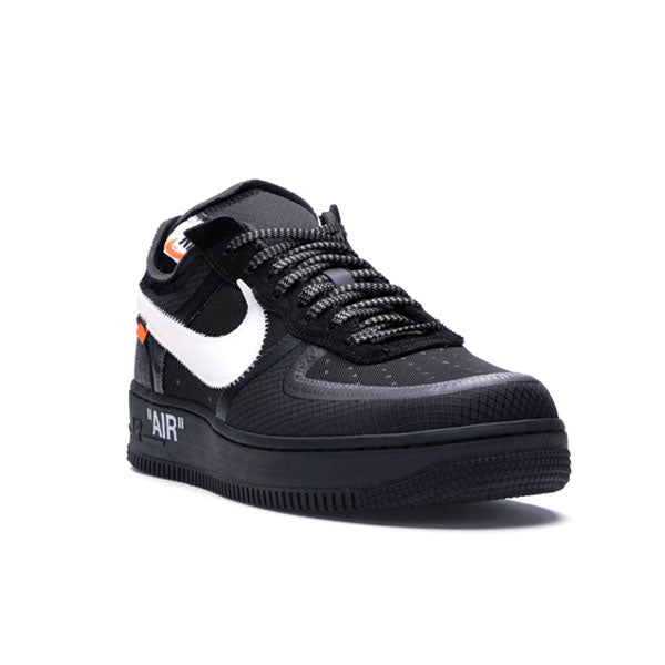 Off White x Nike Air Force 1 Low 'Black'