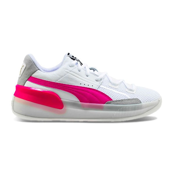 Puma Clyde Hardwood 'White-Pink'