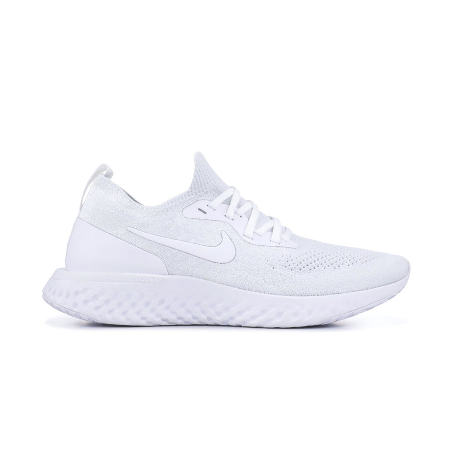 Nike Epic React Flyknit Triple White