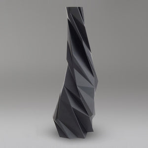 Twister Vase 30 Graphit