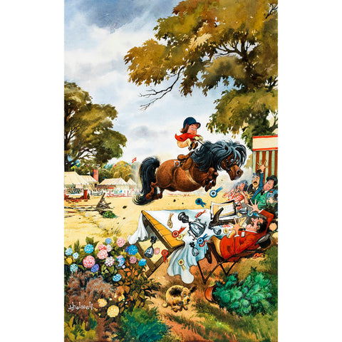 THELWELL: Tea Towel