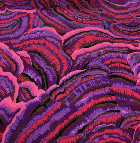 Kaffe Fassett Fabric - PWPJ082 PURPLE