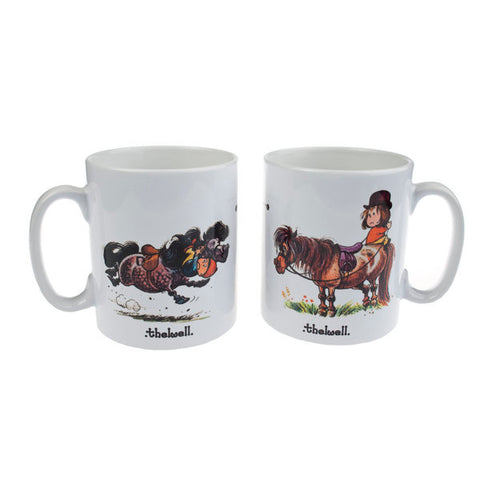 THELWELL: Sitting Position Mug